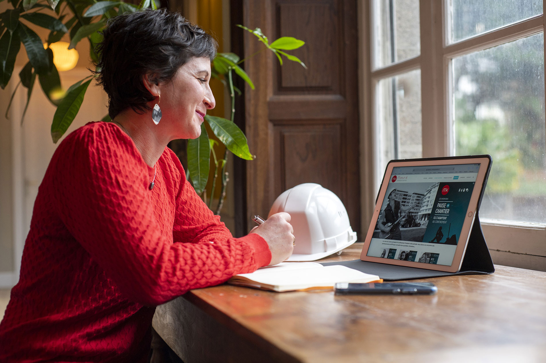 Marie Kerouanton redacteur web BTP